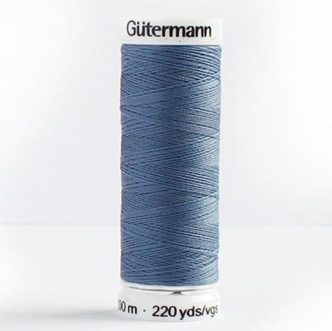Gütermann Allesnäher 200m Nr. 112 rauchblau Ökotex