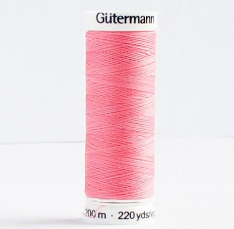 Gütermann Allesnäher Nähgarn 200m Nr. 889 dunkelrosa Ökotex