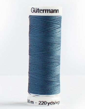Gütermann Allesnäher 200m Nr. 68 dunkel graublau Ökotex