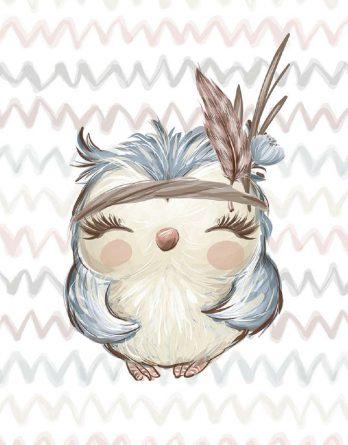 2uWyCwW4zNLBg5SLe8dp 348x445 - 1 Sommersweat / French Terry Panel Waldfreunde - medium / 40x50cm - Eichhörnchen als Indianer - beige rosa blau brau - Einzelmotiv Ökotex