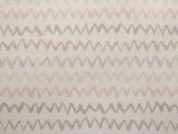 0,5m Sommersweat French Terry – Kombistoff Panel Waldfreunde Winkel – ca. 165cm breit – beige braun rosa weiß – Digital Ökotex