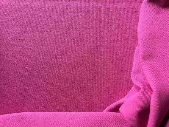 0,5m Jersey Stoff - wunderschönes pink / beere - uni - einfärbig - Ökotex
