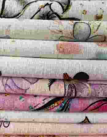 2m Mädchen Stoffreste Überraschungspaket | mit Jerseys, Unis und Sweats | pro Stoff 30-45 cm lange Kinderstoffe á ca. 150 cm breit | Ökotex