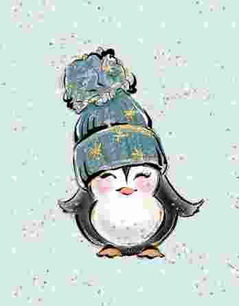 6IR5dJzjBXDQT5jgKRdW 348x445 - 1 süßes Panel der Eisliebe Serie - Eisbär, Pinguin und Iglo auf mint mit goldenen und weißen Punkten - Sommersweat / French Terry / Ganzjahressweat - ca. 40x50cm - Digital - Ökotex
